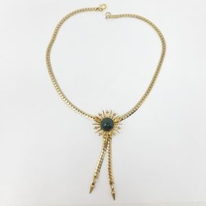 Jewelry - Womens Bolo Style Necklace Pendant Atomic Star